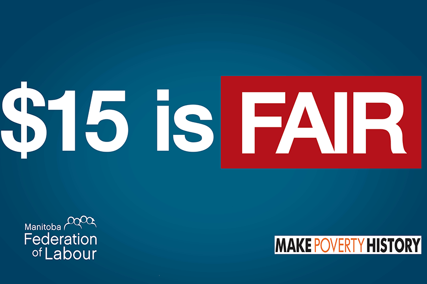 $15 is FAIR - make the minimum wage a living wage